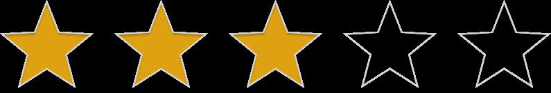 3 étoile(s)