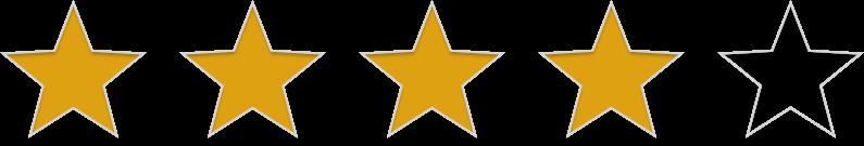 4 étoile(s)