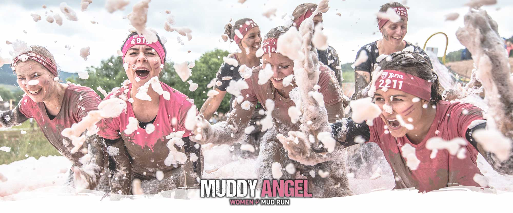 muddy angel run paris obstacle le magazine de la course obstacles en france. Black Bedroom Furniture Sets. Home Design Ideas